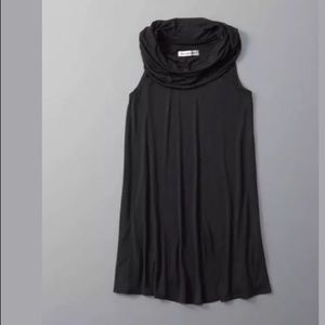Abercrombie Fitch Sleeveless Cowl Neck Swing Dress